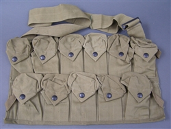 Unissued Original US WWI VB Grenade Chest Pouch Bandolier