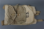 Original US WWII M-1928 Haversack Field Pack Dated 1942 With Mess Kit Pouch