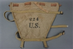 Original US WWII M1928 Pack Carrier (Diaper) Dated 1942