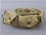 RARE! US Pre WWI M1910 4 Pocket Pistol/Revolver Cartridge Belt