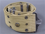 US WWII M1936 Khaki Web Belt