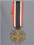 Original German WWII War Merit Cross Second Class With Swords (Kriegsverdienstkreuz 2. Klasse mit Schwertern)