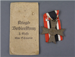 Original German WWII War Merit Cross Second Class Without Swords