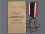 Original German WWII War Merit Cross Second Class With Swords