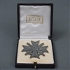 Original German WWII War Merit Cross First Class With Swords With Case