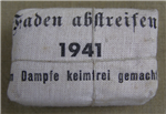 German WWII Small Wound Bandage