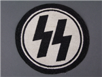 Original Waffen SS Unissued Sports Patch With RZM Tag
