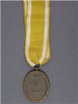 Original German WWII German Defense Wall (West Wall) Medal