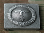 1st Model Luftwaffe Aluminum Belt Buckle
