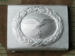 2nd Model Luftwaffe Aluminum Belt Buckle