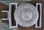Reproduction German WWII Heer Officer's Aluminum Belt Buckle
