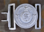 Waffen SS Officer's Aluminum Belt Buckle