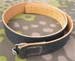 German WWII Enlisted Mans Leather Belt
