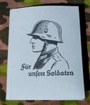 Reproduction German WWII Soldaten Calender/ Wallet/ Writing Tablet