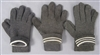 Reproduction German WWII Gray Wool Gloves