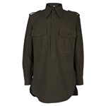 Reproduction German WWII Green Summer (DAK) Shirt