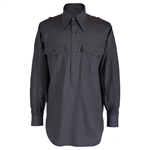Reproduction German WWII Gray Summer Shirt