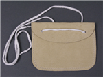 Reproduction German WWII Leather Identification Disc Pouch