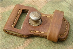 Reproduction German WWII K98 Leather Keeper For Sling