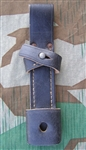 Reproduction German WWII Late War k98 Bayonet Frog Mounted (Seitengewehrtashe) European Made