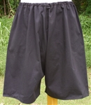 Reproduction German WWII Black Athletic Sport Shorts