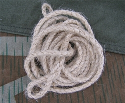 Reproduction German WWII Zeltbahnen Rope