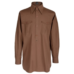 Reproduction SS-VT/Waffen SS Brown Service Shirt