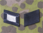 Waffen SS Embroidered Enlisted Mans Collar Tabs