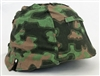 "Waffen SS Blurred Edge ""Mint"" Type II Helmet Cover"