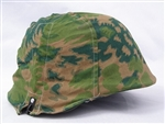 Waffen SS Palm/Forest Helmet Cover