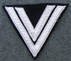 Reproduction Waffen SS Rottenfuhrer Sleeve Rank Insignia