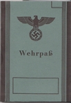 Reproduction German WWII Wehrpass