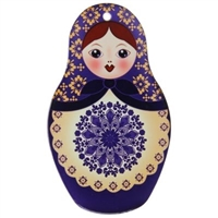 "Hot Plate Mat ""Matreshka"" 22 cm. MIX"