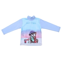 "Kids Jumper  ""Hello Winter!"", 100% cotton"