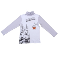"Kids Jumper  ""Winter forest"" , 100% cotton"