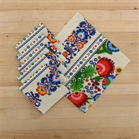 "Table Set ""Karusel"". Table Cloth (150x150 cm) & 6 table napkins (25x25 cm), cotton 100%"