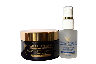 Nature's Tox Facial Lifting Masque & Facial Lifting Serum System