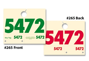 Dispatch Control Tags 3 & 4 Digit