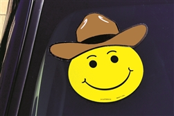 Windshield Vinyl Decals - Cowboy Hat