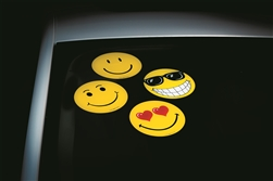 Windshield Happy Face Decals