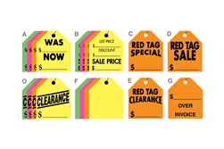 Large Rearview Mirror Tags