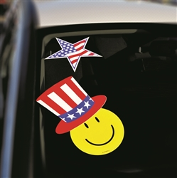 Windshield Patriotic Decals