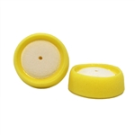 Yellow Foam Grip Pad, 3in