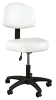 Comfort Stool with Backrest