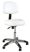 Deluxe Comfort Stool with Backrest