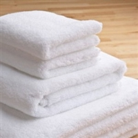 Deluxe 600gsm White Salon & Spa Towel Linens