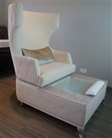 Carrie Swivel Pedicure Chair