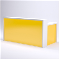 Illuminated 72 inch Glow Reception Desk for Salon & Spa Reception