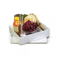 Splash White Bento Box