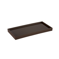Seville Amenity Tray Brown